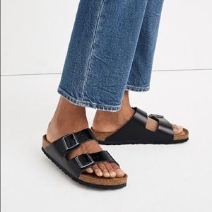 Birkenstock Arizona sandals black leather